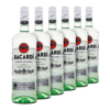 Rum Bacardi Carta Blanca 980ml - Kit 6 Unidades