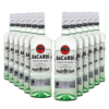 Rum Bacardi Carta Blanca 980ml - Kit 12 Unidades