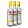 Rum Bacardi Limon 980ml - Kit 3 Unidades