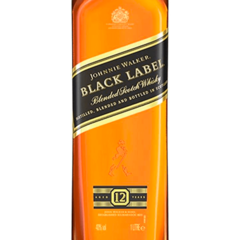 Whisky Johnnie Walker Black Label 1000ml - comprar online