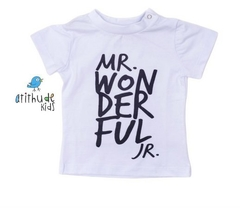 Camiseta Mr. Wonderful - Branca
