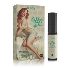 Gel Excitante Comestível Up Excitee - 15ml