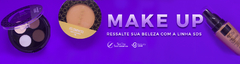 Banner da categoria Make Up