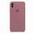 Capa de Silicone para iPhone XS Max Apple - Rosa Claro