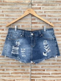 Short saia jeans Blue Steel - 40