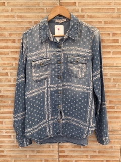 Camisa jeans cashmere - M