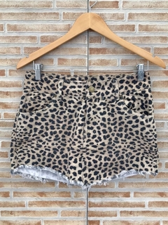 Mini saia leopardo Hush - M