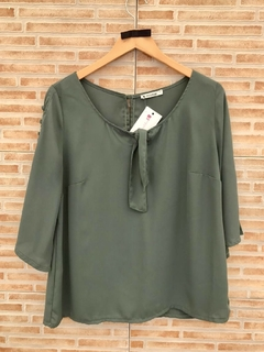 Blusa verde musgo Program - G