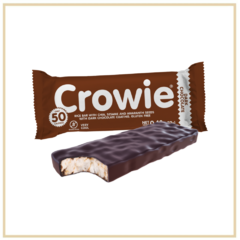 CROWIE: BARRITA DE ARROZ CHOCOLATE