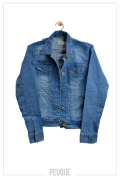 campera denim bruce - Peuque