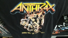 Remera Anthrax - Fight Em Til You Can't
