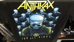 Remera Anthrax - Among The Kings - comprar online