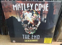Motley Crue - The End Live In Los Angeles Deluxe Edition DVD Blu - Ray  & CD
