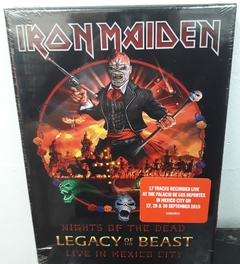 Iron Maiden - Night Of The Living Dead Legacy Of The Beast Live In Mexico City Digibook 2CD´S
