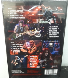 Iron Maiden - Night Of The Living Dead Legacy Of The Beast Live In Mexico City Digibook 2CD´S - comprar online