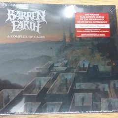 Barren Earth - A Complex Of Cages Digipack