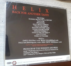 Helix - Back For Another Taste - comprar online