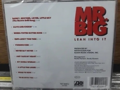 Mr Big - Lean Into It - comprar online