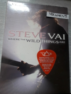 Steve Vai - Where The Wild Things Are  2 DVD´S