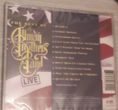 The Allman Brothers Band - Best Of Live - comprar online