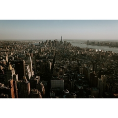 Magic view of New York