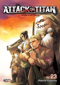 Attack on Titan (ataque a los titanes) vol. 23