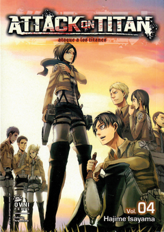 Attack on Titan (ataque a los titanes) vol. 4