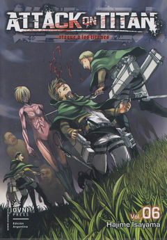 Attack on Titan (ataque a los titanes) vol. 6