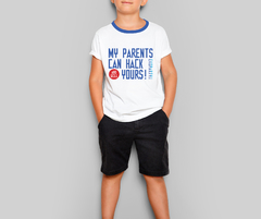 Remera eko edición 2020 Kids Unisex -  My parents can hack