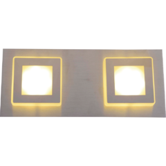 Aplique BENNY 2 Luces LED 2x4,2W 220V