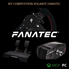 KIT STARTER COMPETITION VOLANTE FANATEC PARA XBOX/PC