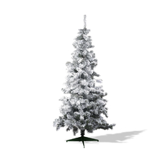 Arbol navideño canadiense nevado 1.50mts