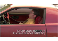 The Office • Everybody Hurts na internet