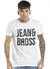 REMERA ESTAMPA PUNTOS JEANS AND BROSS - HOMBRE - Bross