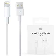 CABLE USB APPLE LIGHTNING 1M ORIGINAL