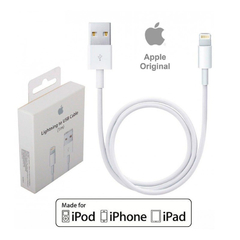 CABLE USB APPLE LIGHTNING 1M ORIGINAL - comprar online