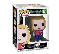 FUNKO POP RICK AND MORTY BETH 301 - REINVENTE
