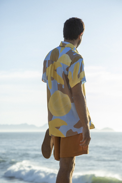 Camisa unissex coral lilás - by the sea