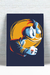 Placa Decorativa - Pato Donald