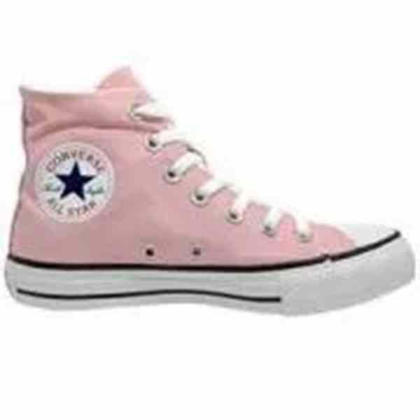 Tênis All Star Rosa Converse Cano Alto