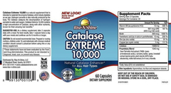 Catalase Extreme 10000 - 60 Capsulas Original - Anti-gray