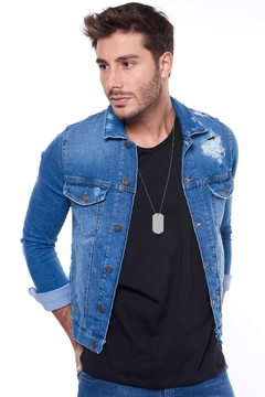 Campera Soft Blue Rip