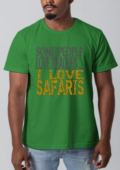 CAMISETA ASCULINA I LOVE SAFARI - Pantanal Wildlife