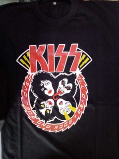 Remera Kiss (ultratumba)