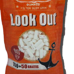 FILTROS LOOK OUT GUMMED SLIM BOLSA X200