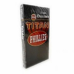 PHILLIES TITAN CHOCOLATE CAJA X5 - EEUU