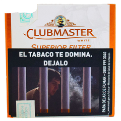CLUBMASTER SUPERIOR FILTER WHITE X10