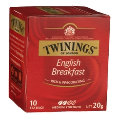 TE TWININGS ENGLISH BREAKFAST X10 SAQUITOS