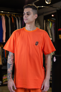 CAMISETA OTHER CULTURE TRAVIS ORANGE - OC1317