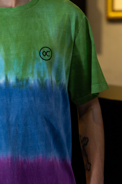 CAMISETA OTHER CULTURE TIE DYE BLUE - OC1487 na internet